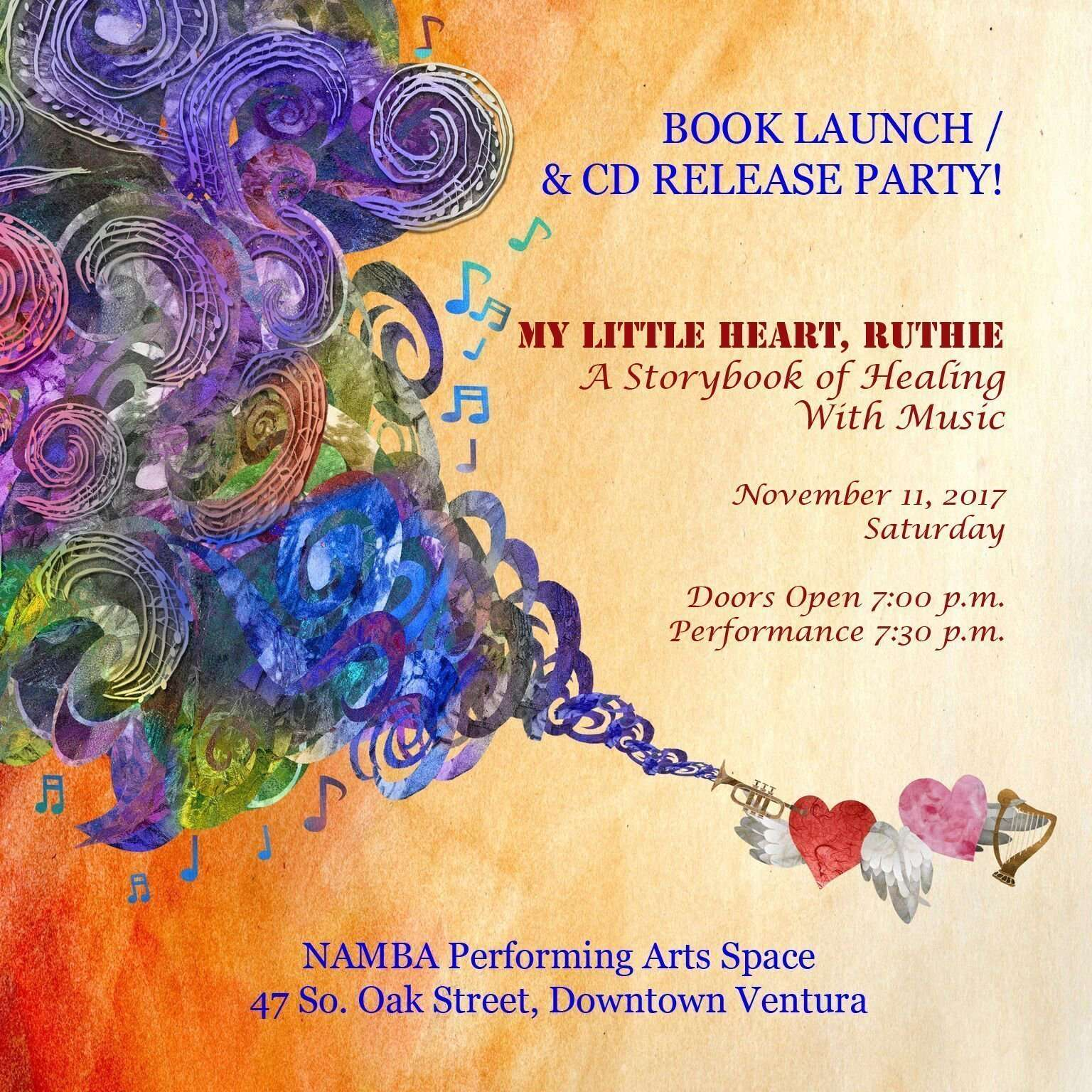 My Little Heart, Ruthie release party